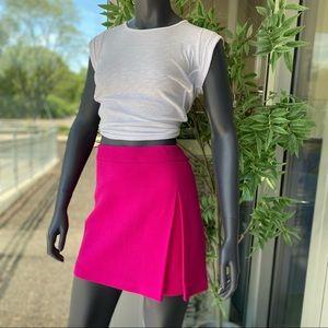 MOSCHINO Cheap and Chic Virgin Wool Mini Skirt
